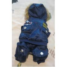 Куртка Pilot с капюшоном, синяя